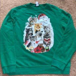 Sweaters - Green Ugly Christmas Sweater with Bells